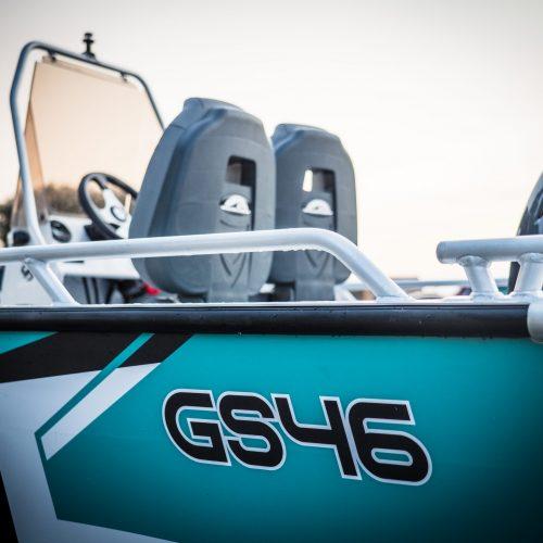 Aluminium boat Gliseris GS46